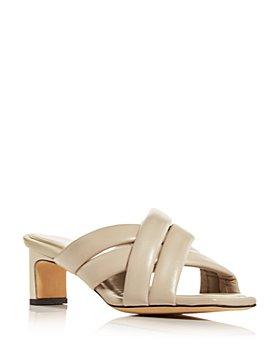 Anine Bing - Women's Cade Mid Heel Slide Sandals