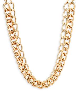 Aqua Double Chain Necklace - 100% Exclusive