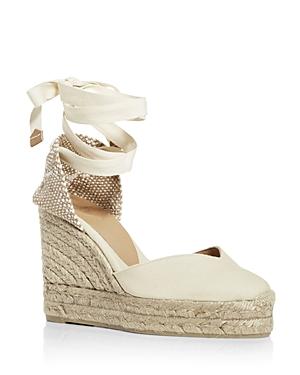 Women's Chiara Ankle Tie Wedge Espadrille Sandals