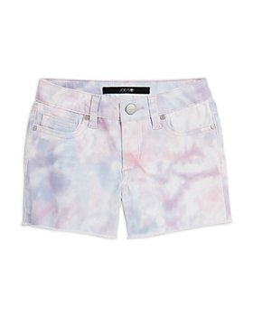 Joe's Jeans - Girls' Chloe Tie-Dyed Denim Shorts, Little Kid - 100% Exclusive