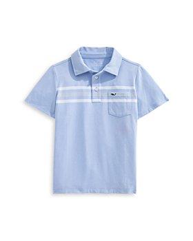 Vineyard Vines - Boys' Chest Stripe Edgartown Polo Shirt - Little Kid, Big Kid