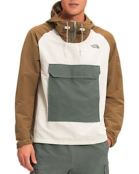 The North Face® - Class V Nylon Blend Color Blocked Packable Hooded Jacket