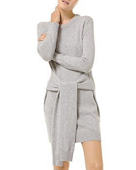 MICHAEL Michael Kors - Cashmere Tie Waist Dress