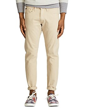 Polo Ralph Lauren - Varick Slim Straight Jeans in Khaki