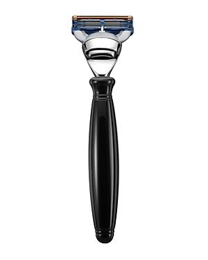 The Art of Shaving Fusion Razor - Black & Nickel Plated