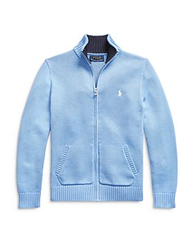 Ralph Lauren - Boys' Front Zip Sweater - Little Kid, Big Kid