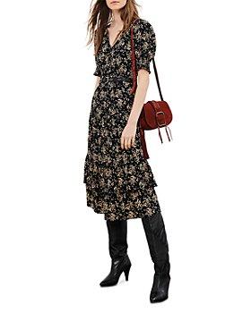ba&sh - Vika Ruffled Midi Dress