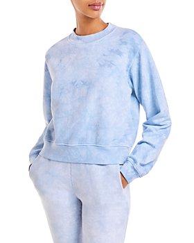 Cotton Citizen - Milan Cropped Tie-Dye Sweatshirt