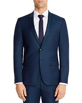 HUGO - Extra Slim Fit Birdseye Suit Jacket