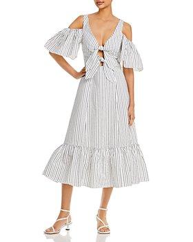 Cinq à Sept - Laurel Cold Shoulder A Line Dress