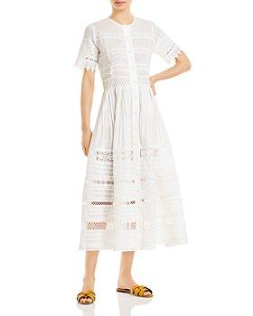Waimari - Camila Fit-And-Flare Midi Dress