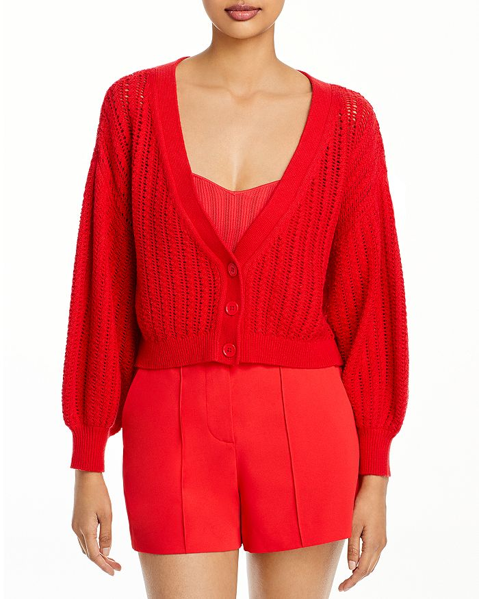 Alice And Olivia Cardigans ALICE AND OLIVIA WINSOR SLOUCHY CARDIGAN