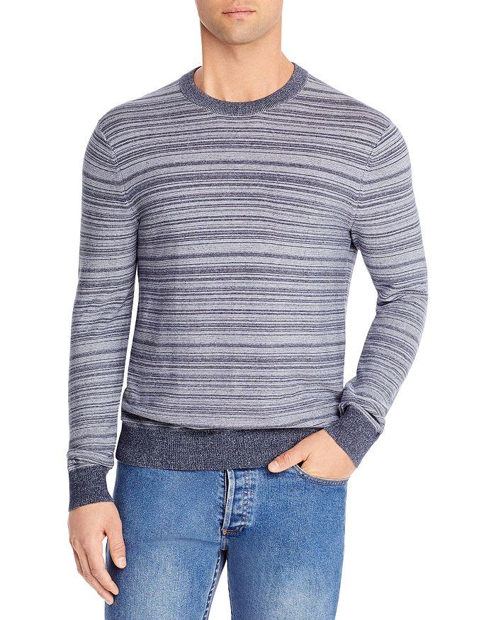 Michael Kors Sweaters LINKS STRIPED CREWNECK SWEATER