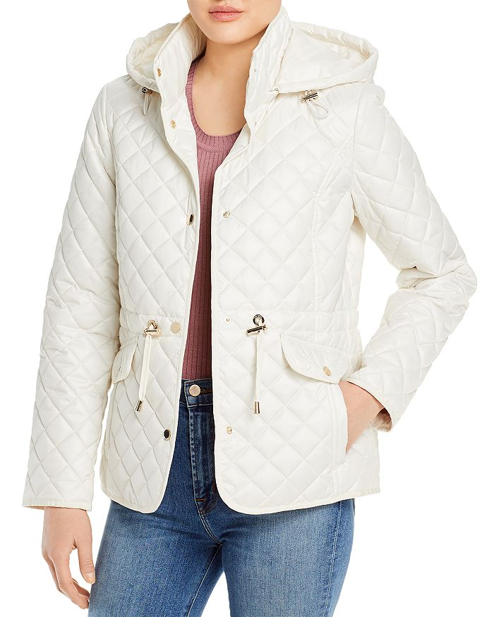 Kate Spade KATE SPADE NEW YORK HOODED QUILTED JACKET
