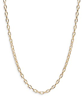 """Zoë Chicco - 14K Yellow Gold Chain Necklace, 18"""""""
