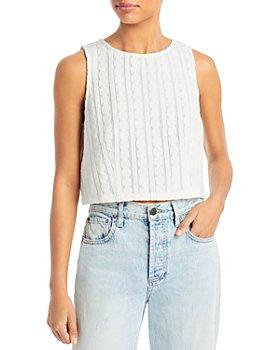 Line & Dot - Melissa Tie-Back Knit Tank Top