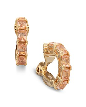 Ralph Lauren - Stone Clip On Hoop Earrings