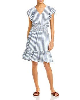 Rails - Tara Striped Flounce Dress
