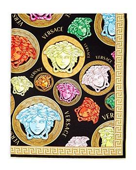 Versace - Medusa Medallion Print Silk Scarf