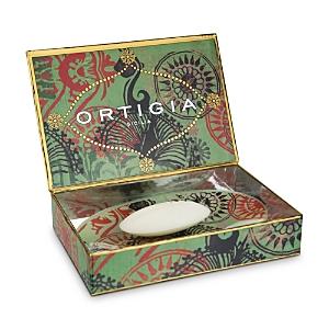 Ortigia Sicilia Fico D'India Soap and Soap Dish Set