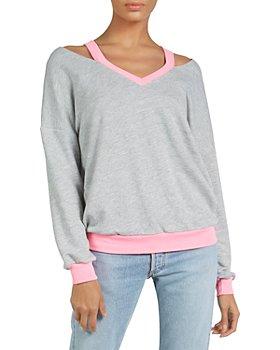 Michael Lauren - Swanson Cold Shoulder Sweatshirt