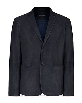 John Varvatos Collection - Slim Fit Suede Blazer