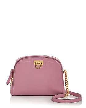 Salvatore Ferragamo - Trifolio Leather Shoulder Bag