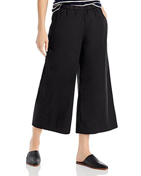 Eileen Fisher - Cropped Wide Leg Pants