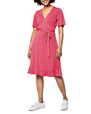 Hayley Fit and Flare Wrap Dress