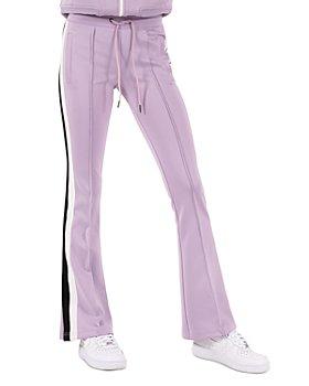 PAM & GELA - Flared Tuxedo Stripe Track Pants