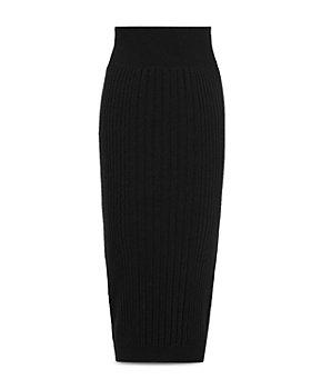 ALLSAINTS - Enya Ribbed Skirt