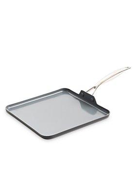 "GreenPan - Valencia Pro Healthy Ceramic Nonstick Griddle, 11"""