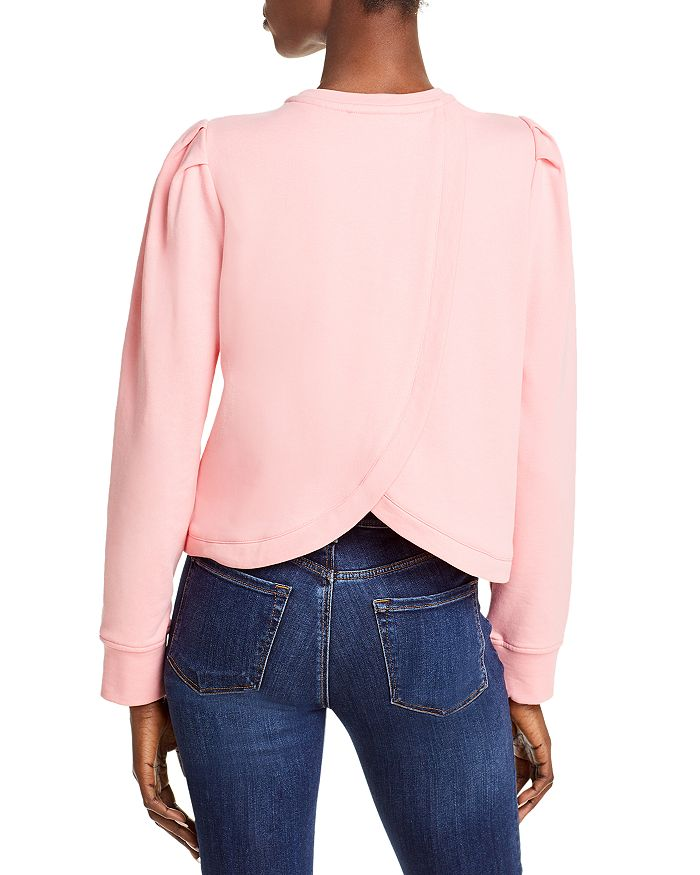 MILLY Sweatshirts MARIANNE PUFF SLEEVE SWEATSHIRT