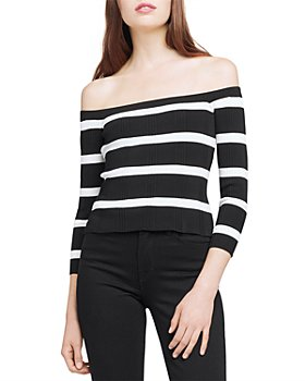 L'AGENCE - Connor Off-the-Shoulder Sweater