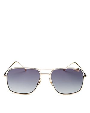 Unisex Brow Bar Aviator Sunglasses