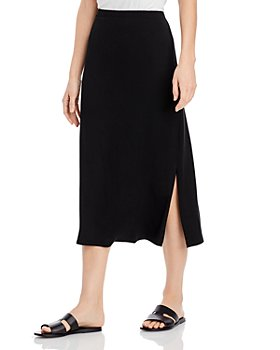 Eileen Fisher - A Line Slit Skirt