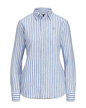 Ralph Lauren - Relaxed Fit Striped Linen Shirt