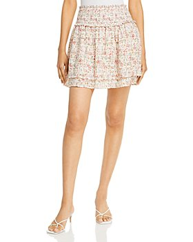 Rails - Addison Smocked Floral Print Skirt
