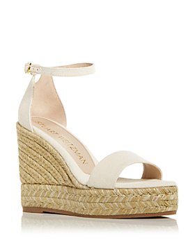 Stuart Weitzman - Women's Floria Wedge Platform Espadrille Sandals - 100% Exclusive