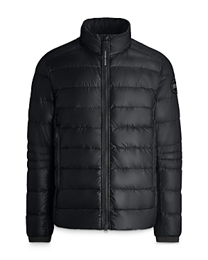 Canada Goose Black Disc Crofton Nylon Down Puffer Jacket