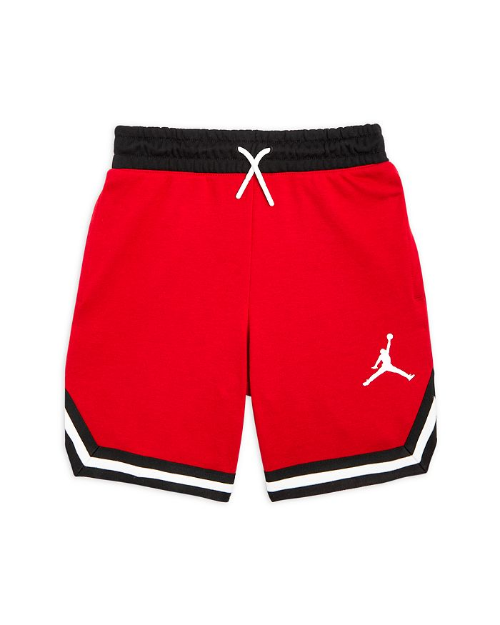 Jordan Boys' Center Court Fleece Shorts - Big Kid In Red