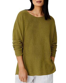 Eileen Fisher - Boxy Linen Blend Sweater