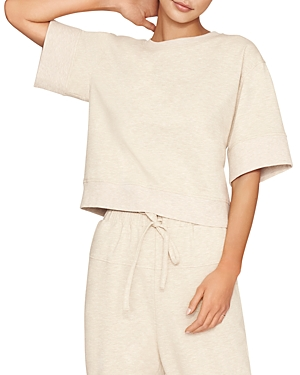 Padded Sleeve Top