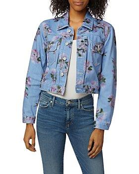 Hudson - Lola Floral Print Trucker Jacket