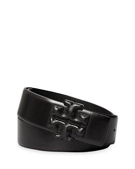 Tory Burch - Women's Eleanor Leather Logo Belt