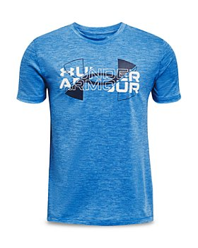 Under Armour - Boys' Logo Vented Performance Tee - Big Kid