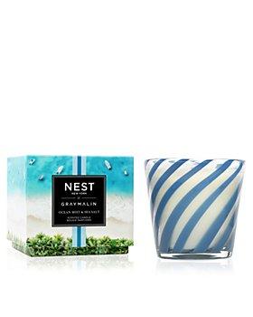 NEST Fragrances - Gray Malin Summer Collection Ocean Mist & Sea Salt 3 Wick Candle 21.2 oz.