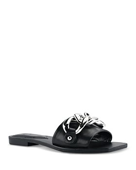 Marc Fisher LTD. - Women's Rosely Chain Slide Sandals
