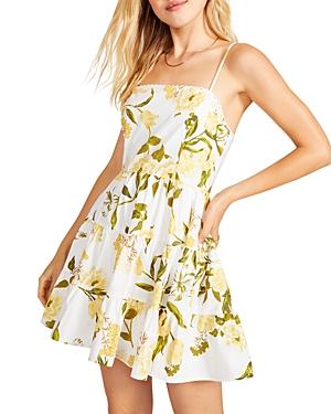 Lush Life Printed Mini Dress
