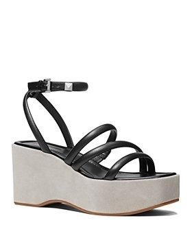MICHAEL Michael Kors - Women's Hazel Ankle Strap Wedge Sandals